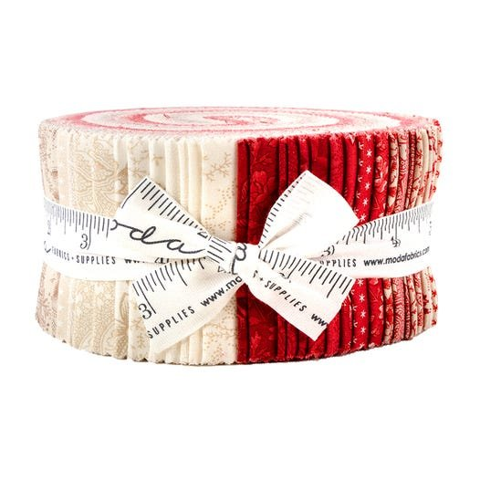 Cranberries & Cream Jelly Roll