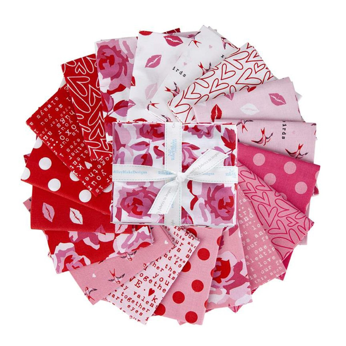 Sending Love Fat Quarter, 18pcs
