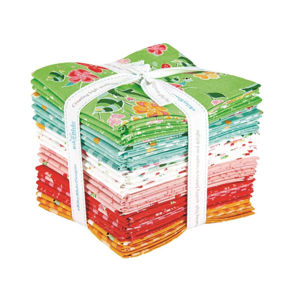 Strawberry Honey Fat Quarter Bundle, 24pcs