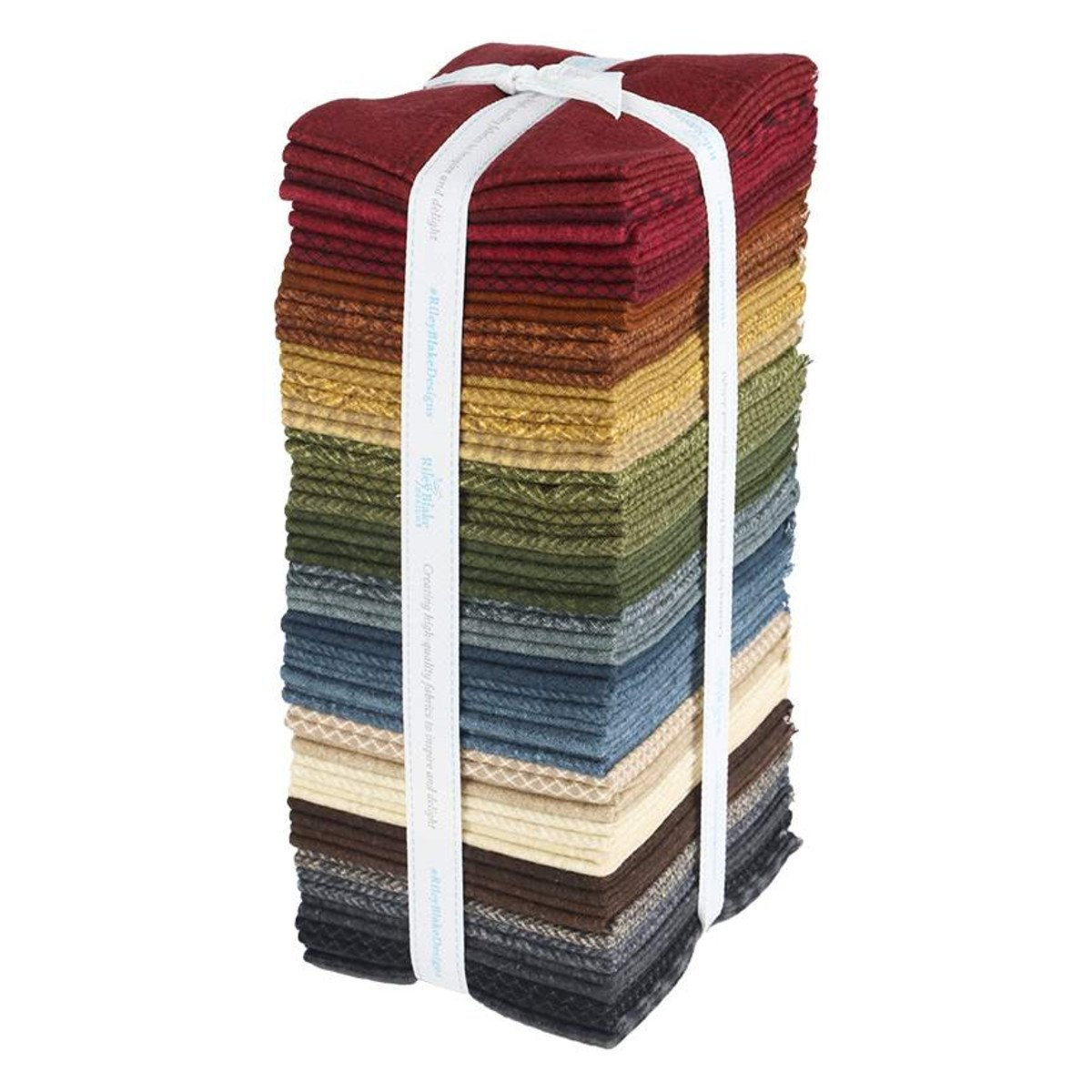 Woolen Flannel Fat Quarter, 32pcs