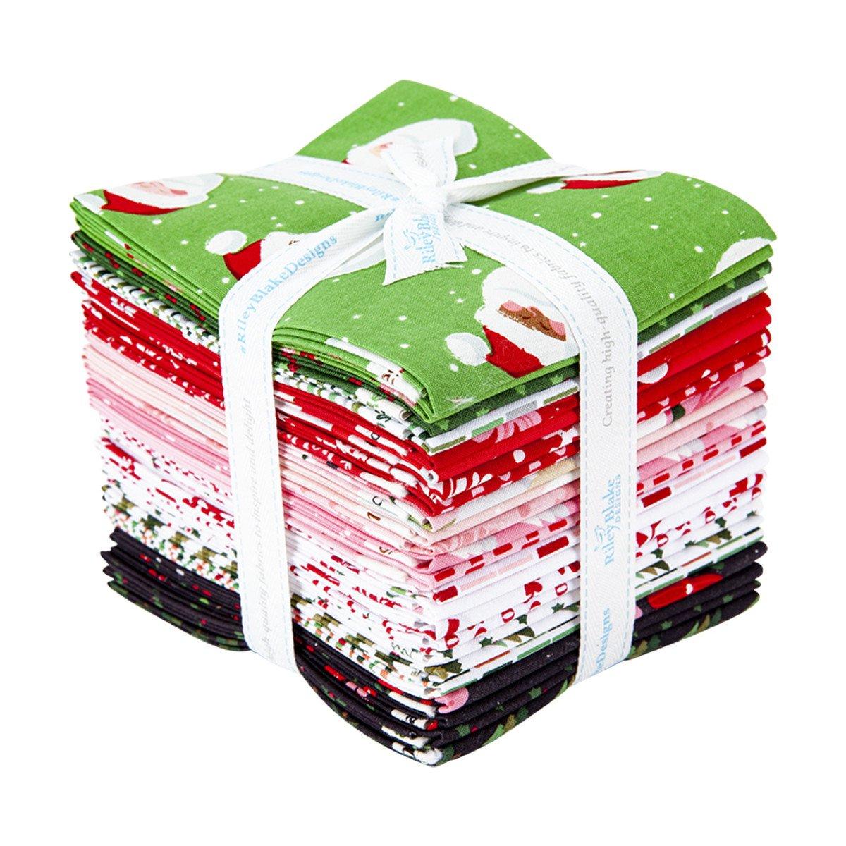 Holly Holiday Fat Quarter Bundles, 24pcs/bundle