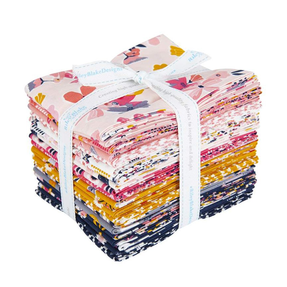 Golden Astor Fat Quarter, 21pcs
