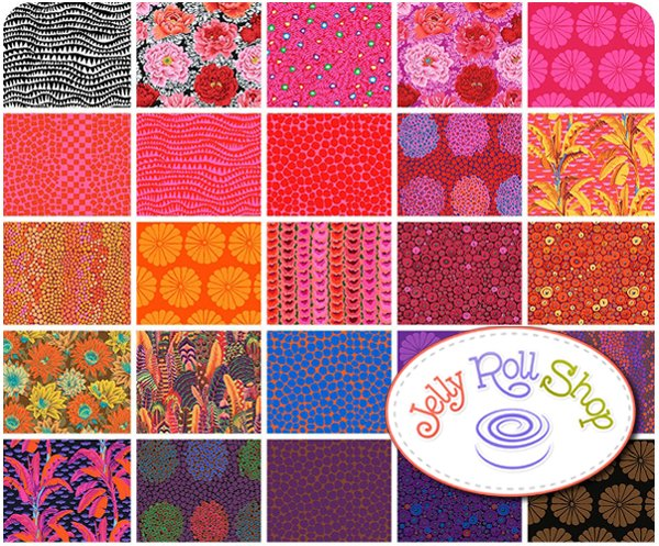 Kaffe Fassett Collective Spring 2021 Fat Quarter Bundle HOT - Pre-order
