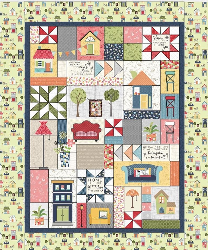 Make Yourself at Home Quilt Kit