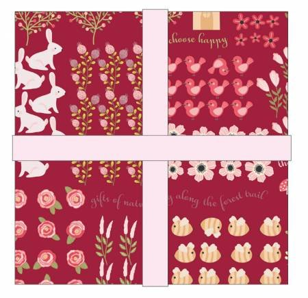 Kaisley Rose 5in Squares