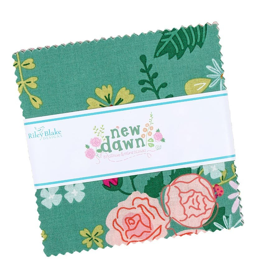 New Dawn 5in Squares , 42pcs