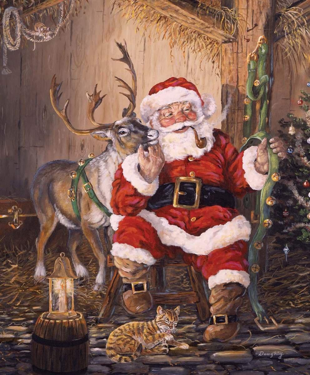 Christmas Memories Time To Go Panel - P8692-TIME