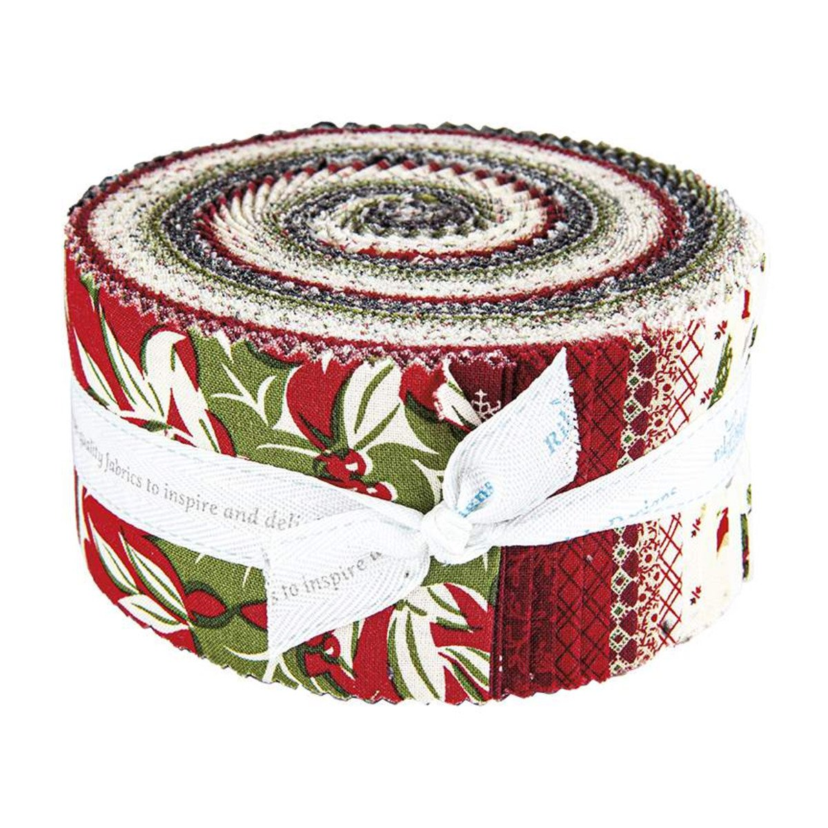 Christmas At Buttermilk Acres 2-1/2in Strips, 40pcs/bundle