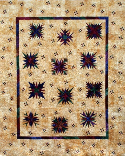 Starry Nights Quilt Kit