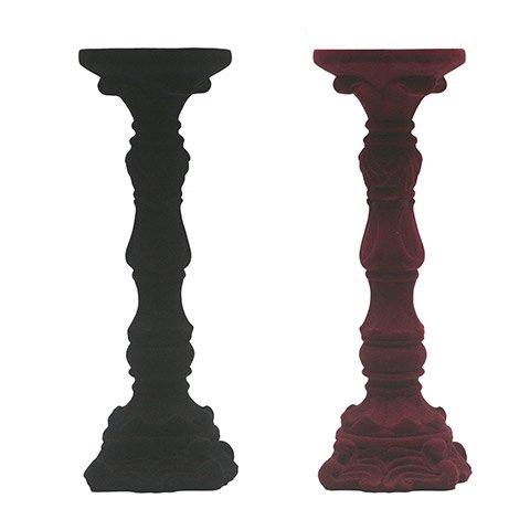 velvet candle stick