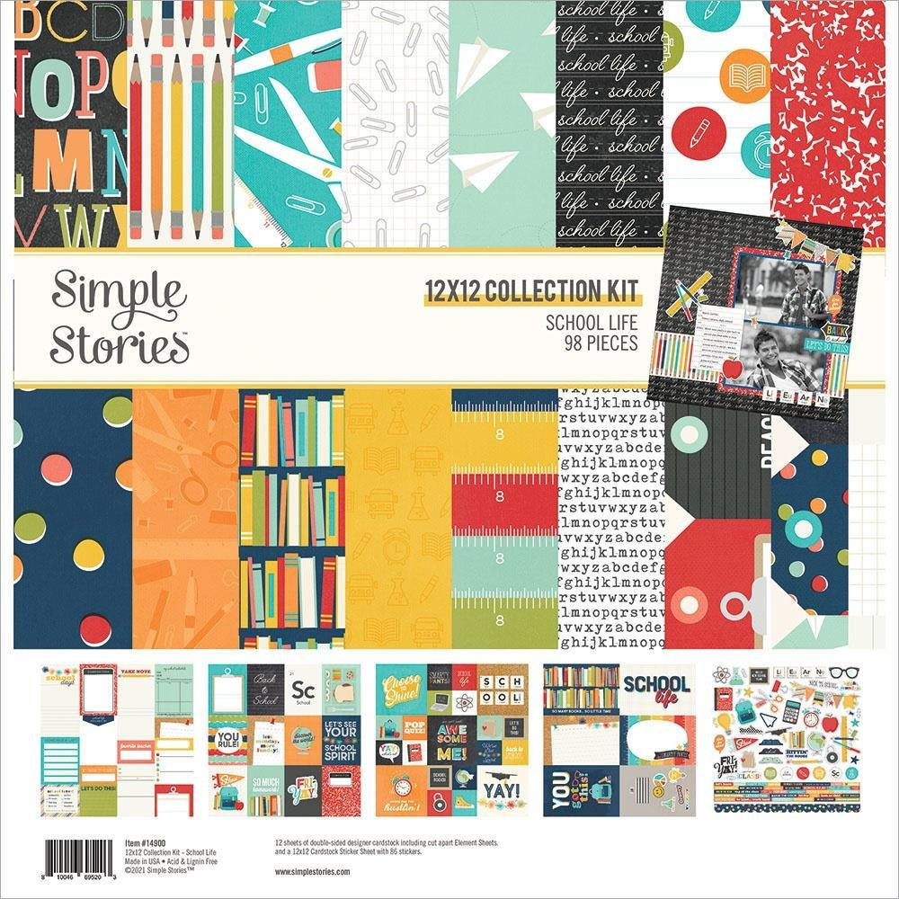 School Life collection kit by Simple Stories