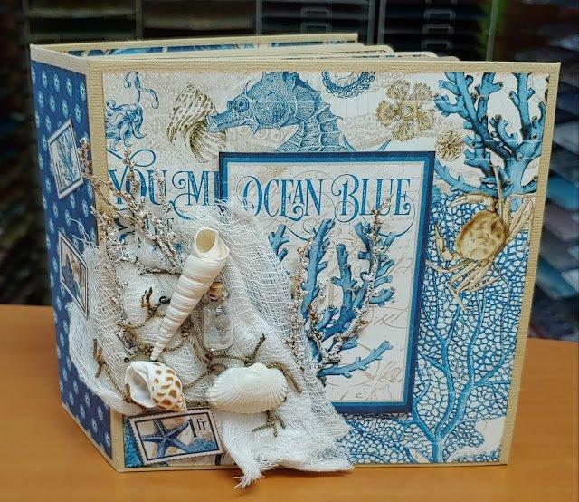 Ocean Blue Album kit