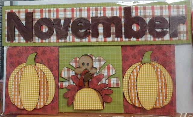 Magnetic Calendar-November
