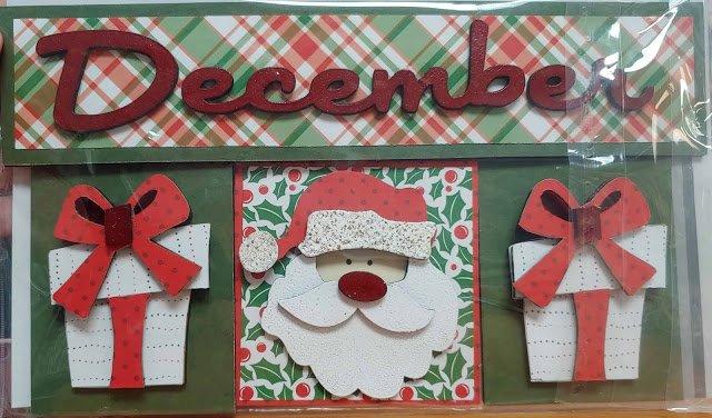 December Calendar Insert