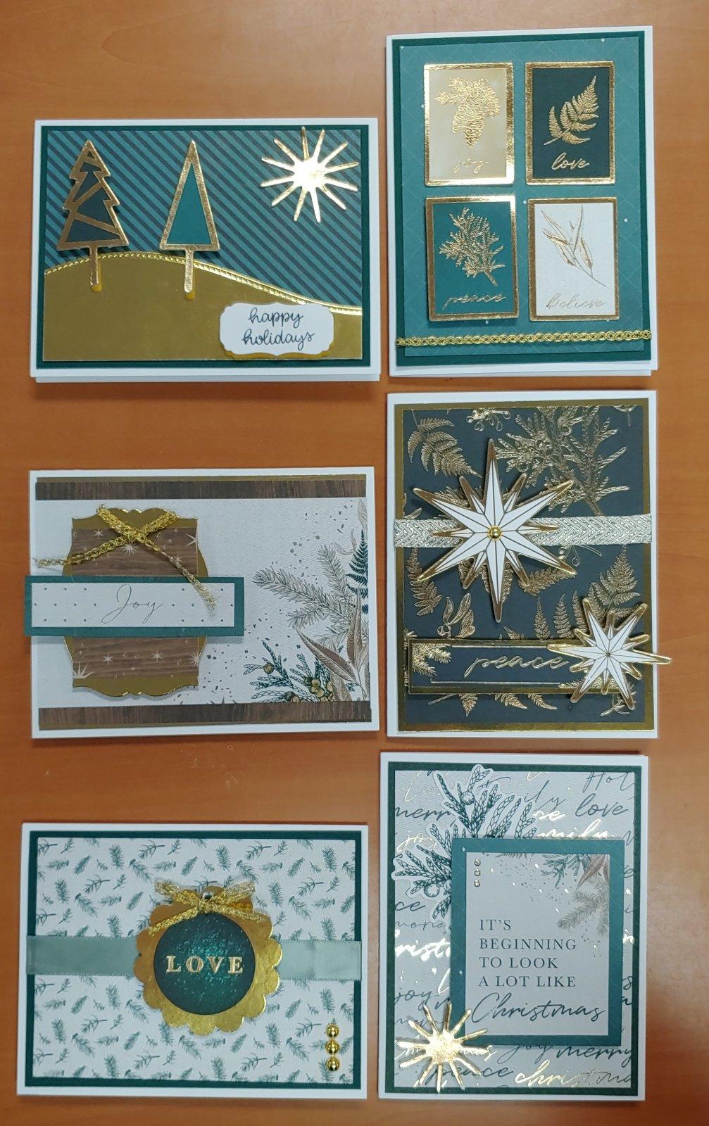 Emerald Eve Christmas Card Kit