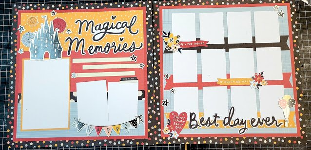 Disney Layouts by Simple Stories/Lisa C
