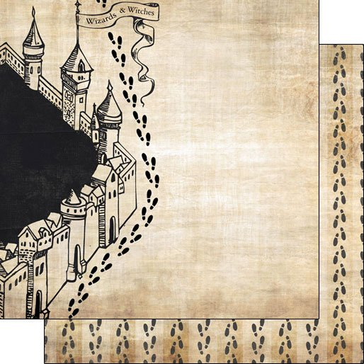 Wizarding World Feet Double-sided paper