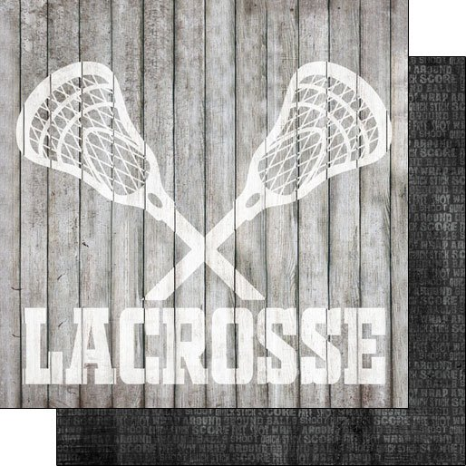 Lacrosse Wood Double-sided paper