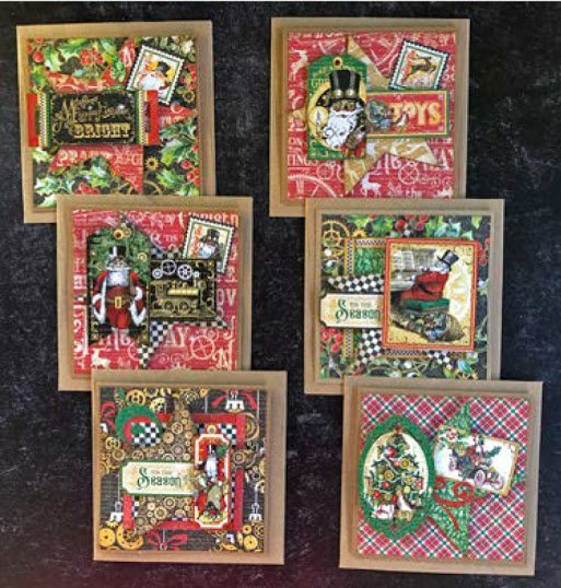 G45 Christmas Time  Cards