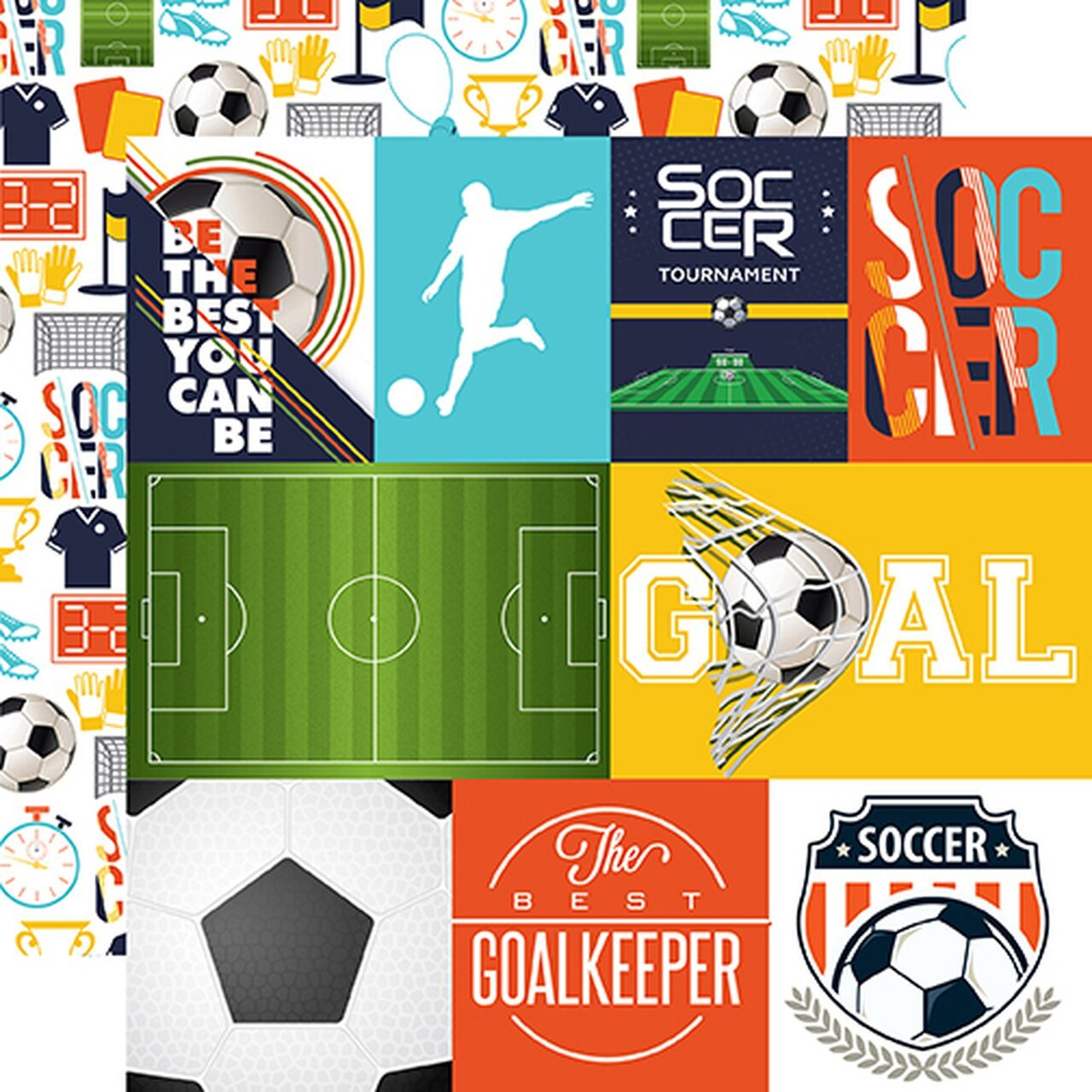 Soccer Journaling Cards