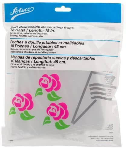 Soft Disposable Decorating Bags 18 (Set of 10)