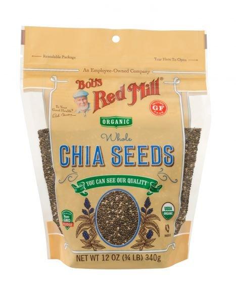 Organic Chia Seeds 12 Ounce