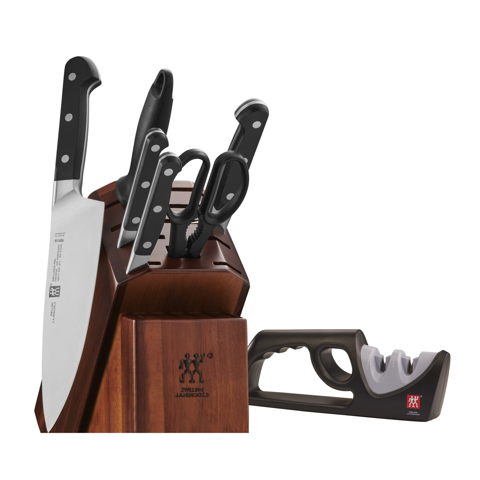 Zwilling J.A. Henckles Pro 7pc Knife Block Set