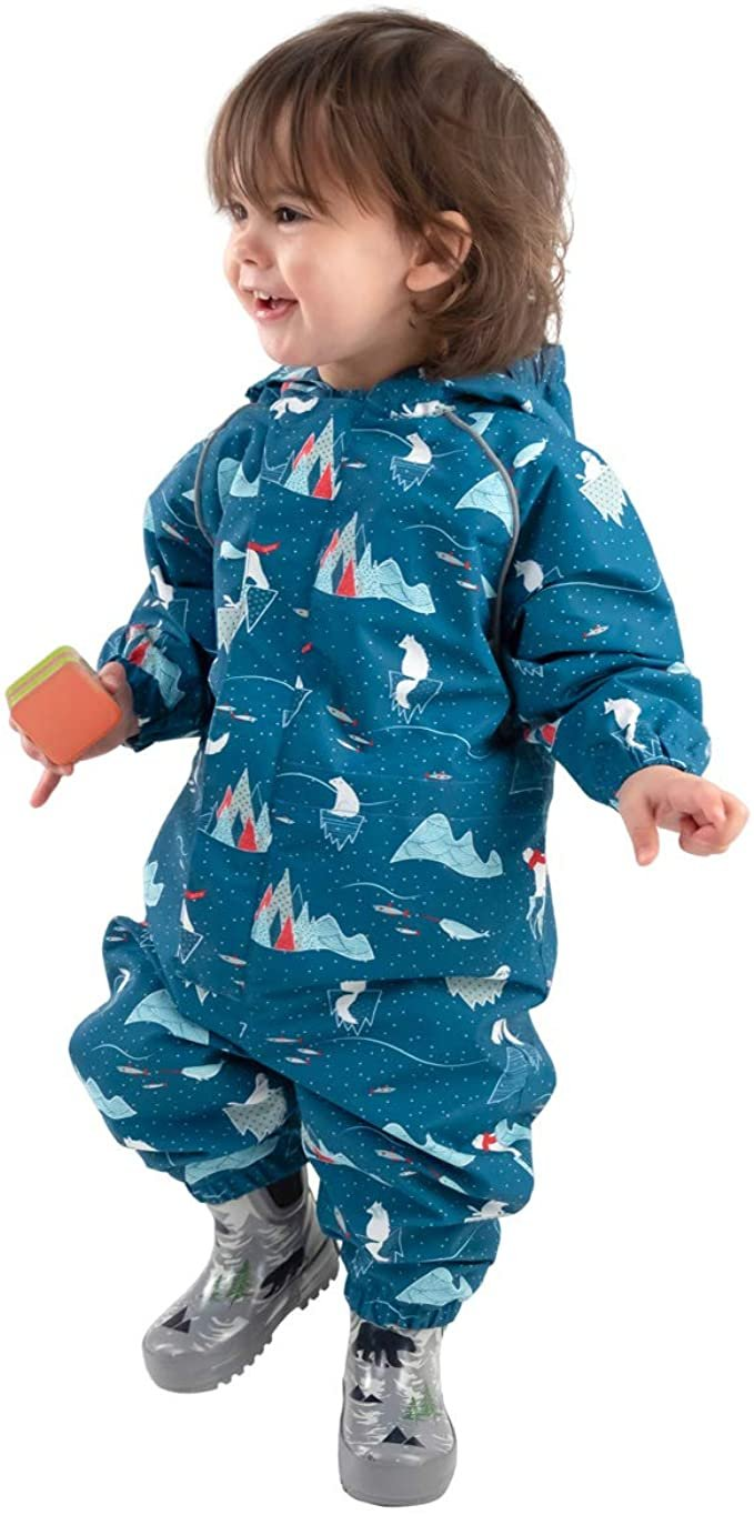 New Jan & Jul Puddle-Puddle Dry Rain suit 4T