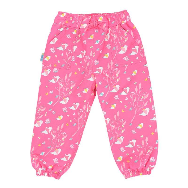 New Jan & Jul Puddle-Dry Rain Pants Single Layer - Origami 8Y