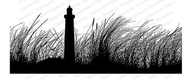 Lighthouse Cling Stamp