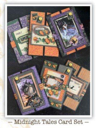 G45 Card Club 2021 Vol 8 Midnight Tales Card Set