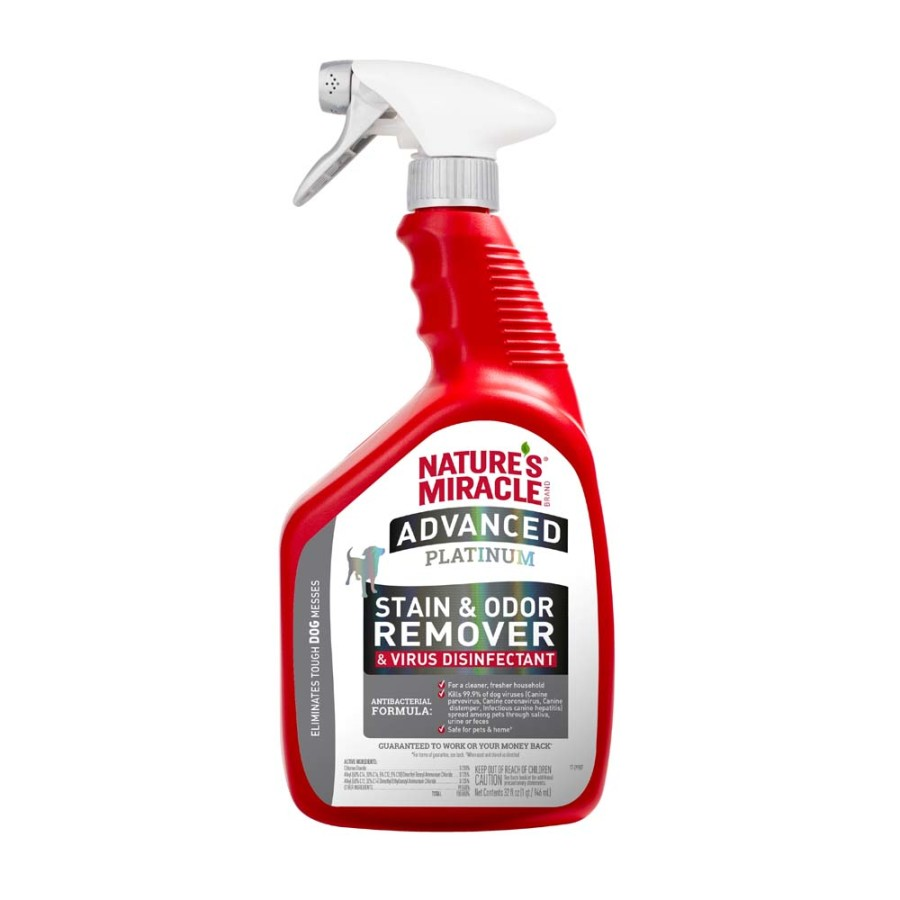 Nature's Miracle Advanced Stain and Odor Remover 32 oz bottle