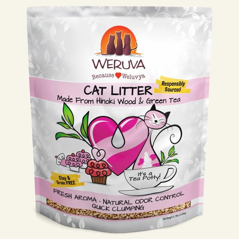 Weruva Cat Litter made with Hinoki Wood & Green Tea, 6.7 lb