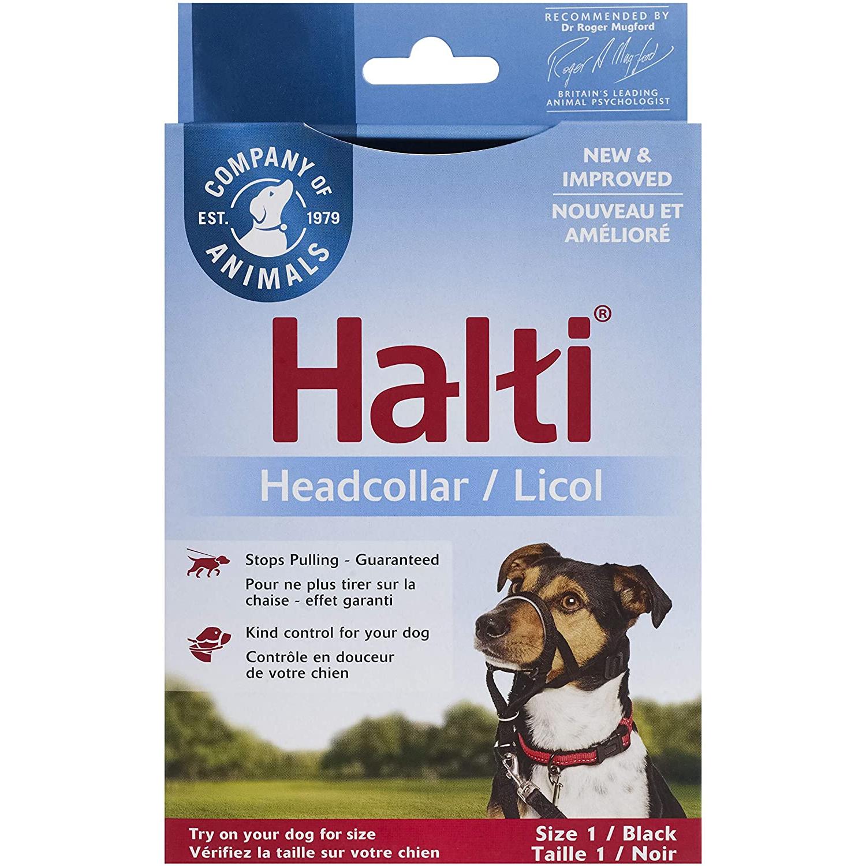 Company of Animals Halti Headcollar Black Size 1