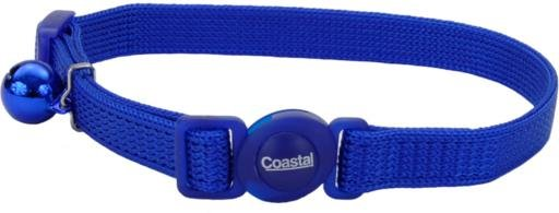 Coastal Style 7001 Safe Cat Breakaway Cat Collar 3/8 x 8-12 Blue