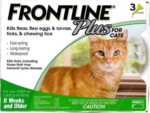 FrontlinePlus CAT GRN 3 PK