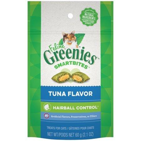 Greenies SmartBite Tuna Cat Treat 2.1 oz bag