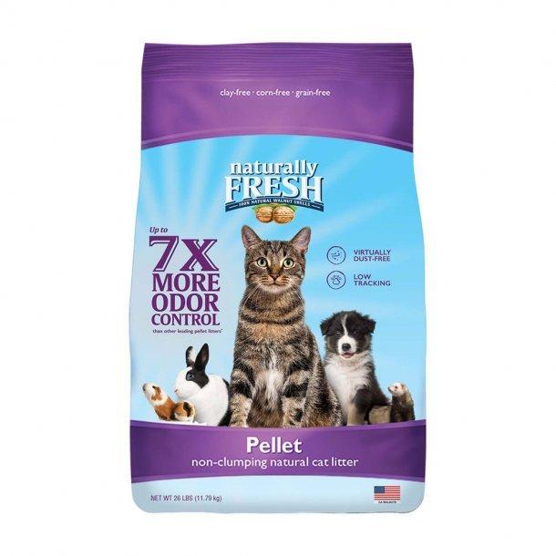 NAT FRSH NON CLMP PELL LTR 10 lb - Purple Bag