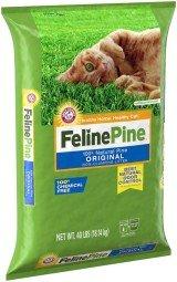 Feline Pine Original Non-Clumping Cat Litter 40 lb