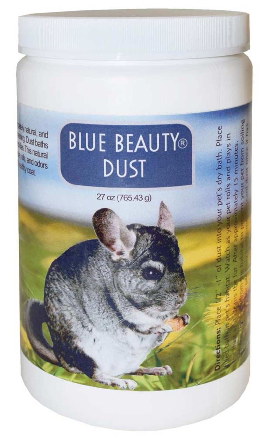 LIX Bath Chinchilla Dust 27 ounce bottle