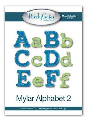 Purely Gates Mylar Alphabet 2