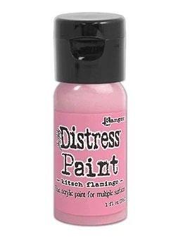 Tim Holtz Distress Flip Top Paint - Kitsch Flamingo
