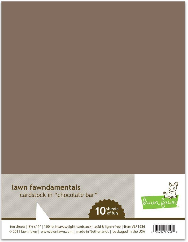 LF Cardstock - Chocolate Bar (8.5 x 11 / 10 sheets)
