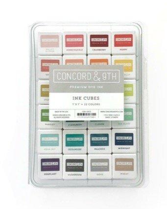 Concord & 9th Ink Cubes Bundle