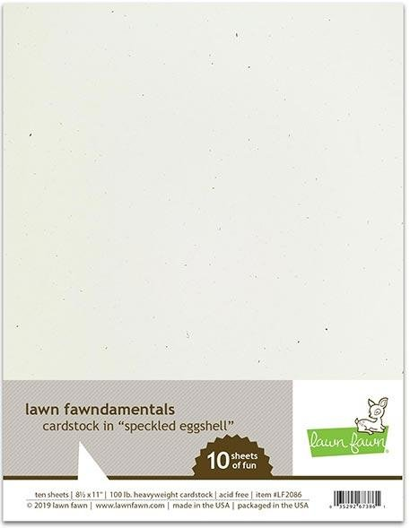 LF Cardstock - Speckled Eggshell (8.5 x 11 / 10 sheets)