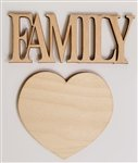 Clear Scraps 3D Frame Add-on - Family