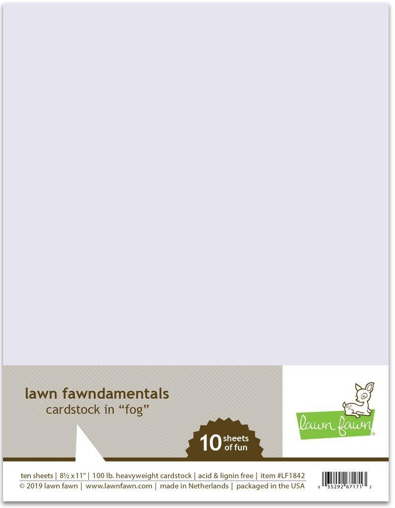 LF Cardstock - Fog (8.5 x 11 / 10 sheets)