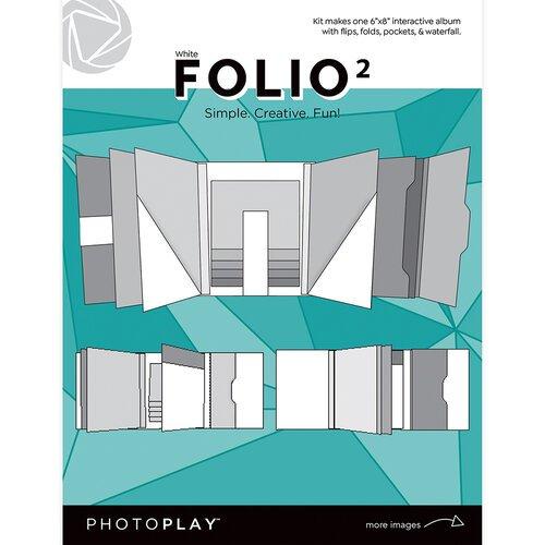 PP Maker Series Folio 2 6X8-White
