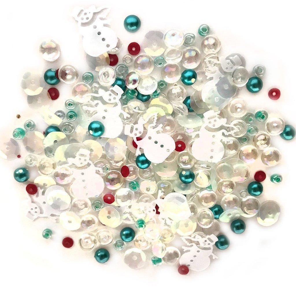 Buttons Galore Sparkletz Frosty Friends