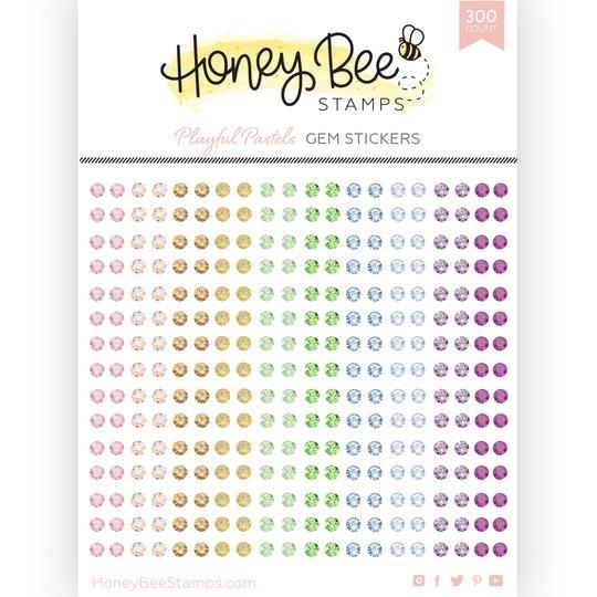 Honey Bee Playful Pastels Gems